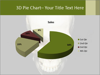 Scary Human Skull PowerPoint Template - Slide 35