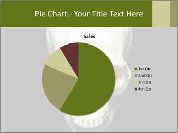 Scary Human Skull PowerPoint Template - Slide 36