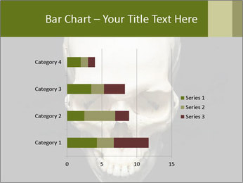 Scary Human Skull PowerPoint Template - Slide 52
