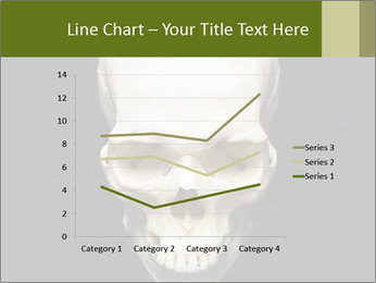 Scary Human Skull PowerPoint Template - Slide 54