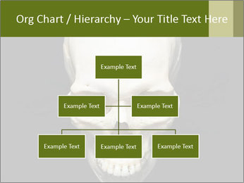 Scary Human Skull PowerPoint Template - Slide 66