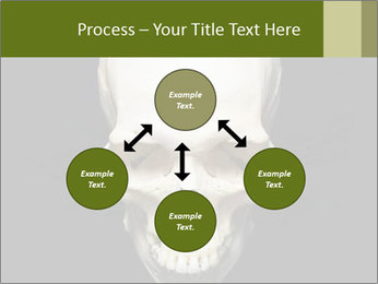 Scary Human Skull PowerPoint Template - Slide 91