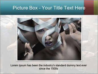 Model and Beauty Salon PowerPoint Templates - Slide 16
