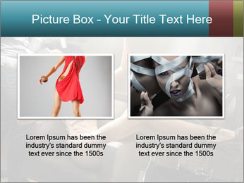 Model and Beauty Salon PowerPoint Templates - Slide 18