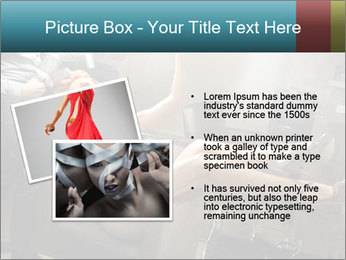 Model and Beauty Salon PowerPoint Templates - Slide 20