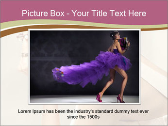 Woman with Red Short Hairstyle PowerPoint Template - Slide 16
