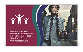 0000063758 Business Card Template