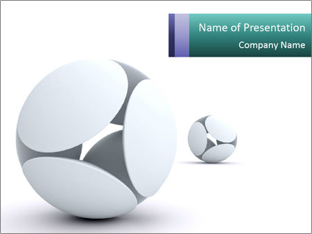 3D Balls PowerPoint Template