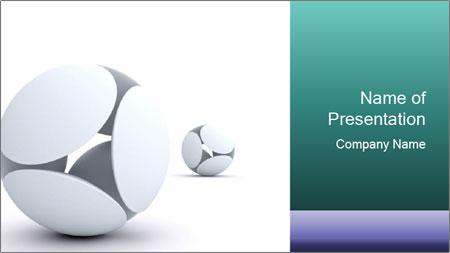 3D Balls PowerPoint Template