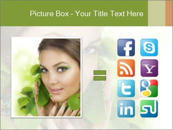 Eco Beauty Treatment PowerPoint Templates - Slide 21