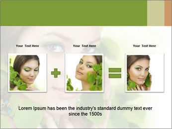 Eco Beauty Treatment PowerPoint Templates - Slide 22