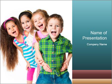 Smily Kids PowerPoint Templates