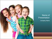 Smily Kids PowerPoint Templates