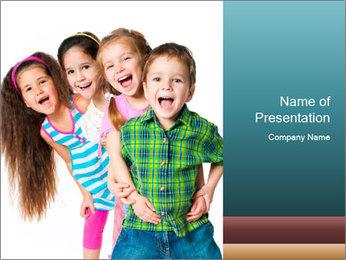 Smily Kids PowerPoint Templates - Slide 1