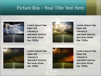Roadside and Thunderstorm PowerPoint Template - Slide 14