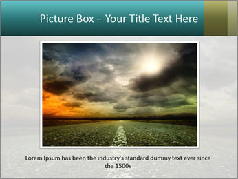 Roadside and Thunderstorm PowerPoint Template - Slide 15