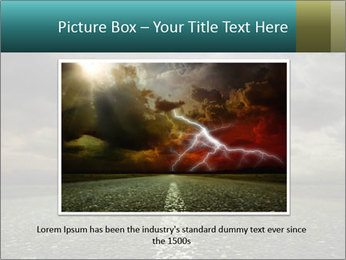 Roadside and Thunderstorm PowerPoint Template - Slide 16