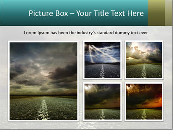 Roadside and Thunderstorm PowerPoint Template - Slide 19