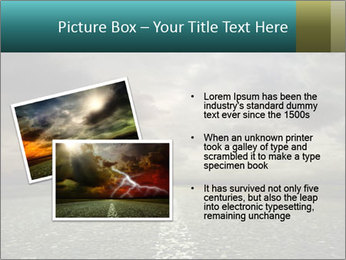 Roadside and Thunderstorm PowerPoint Template - Slide 20