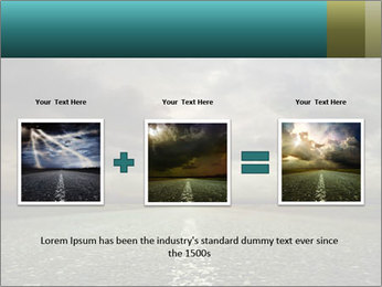 Roadside and Thunderstorm PowerPoint Template - Slide 22