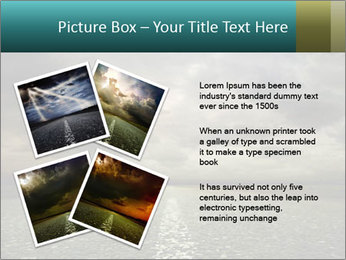 Roadside and Thunderstorm PowerPoint Template - Slide 23