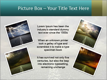 Roadside and Thunderstorm PowerPoint Template - Slide 24