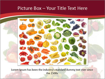 Catalogue of Berries PowerPoint Templates - Slide 15