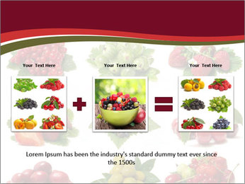 Catalogue of Berries PowerPoint Templates - Slide 22