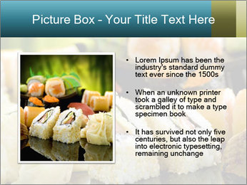 Tuna Roll PowerPoint Template - Slide 13