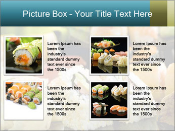 Tuna Roll PowerPoint Template - Slide 14