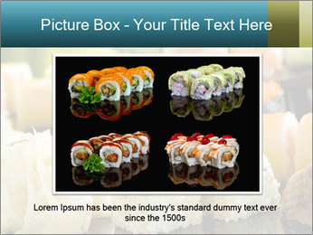 Tuna Roll PowerPoint Template - Slide 16