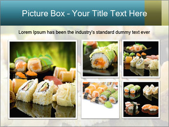 Tuna Roll PowerPoint Template - Slide 19