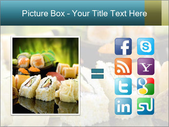 Tuna Roll PowerPoint Template - Slide 21