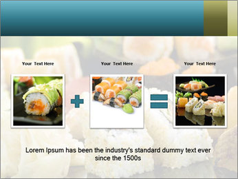 Tuna Roll PowerPoint Template - Slide 22