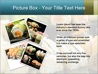 Tuna Roll PowerPoint Template - Slide 23