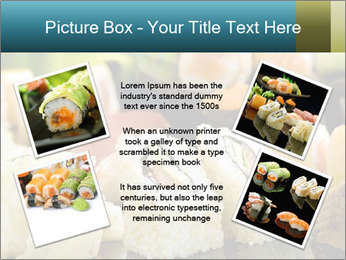 Tuna Roll PowerPoint Template - Slide 24