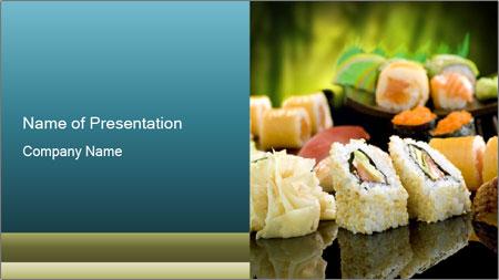 Tuna Roll PowerPoint Template