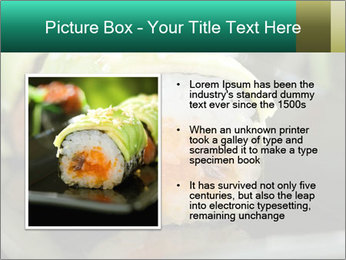 Nigiri Roll PowerPoint Templates - Slide 13
