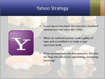 Fresh Sushi Set PowerPoint Templates - Slide 11