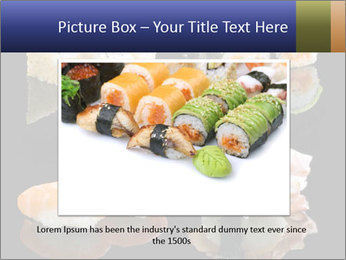 Fresh Sushi Set PowerPoint Templates - Slide 15