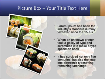 Fresh Sushi Set PowerPoint Templates - Slide 17
