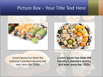 Fresh Sushi Set PowerPoint Templates - Slide 18