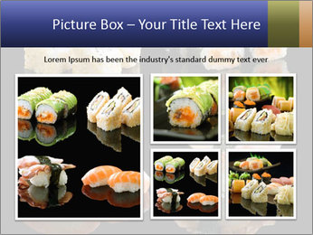 Fresh Sushi Set PowerPoint Templates - Slide 19