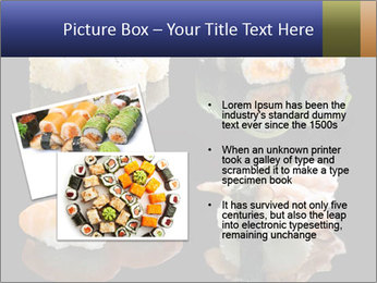 Fresh Sushi Set PowerPoint Templates - Slide 20