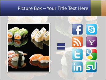 Fresh Sushi Set PowerPoint Templates - Slide 21