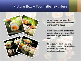 Fresh Sushi Set PowerPoint Templates - Slide 23