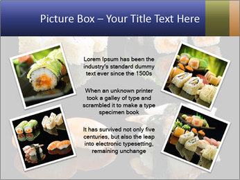 Fresh Sushi Set PowerPoint Templates - Slide 24