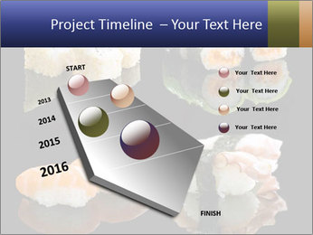 Fresh Sushi Set PowerPoint Templates - Slide 26