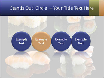 Fresh Sushi Set PowerPoint Templates - Slide 76