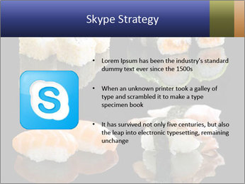 Fresh Sushi Set PowerPoint Templates - Slide 8